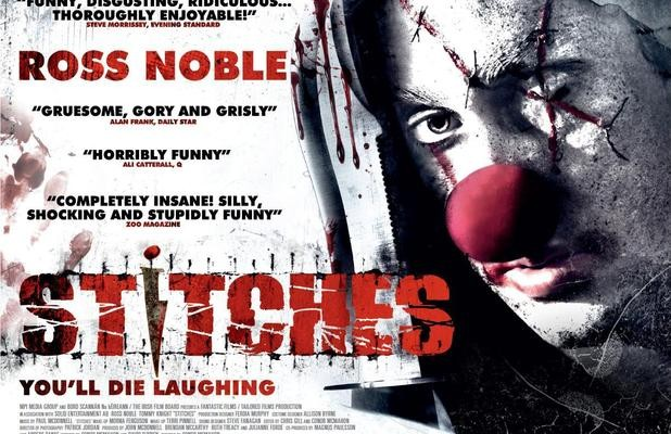 """This Clown's Not Funny"". You Can Say That Again: Stitches (2012)"