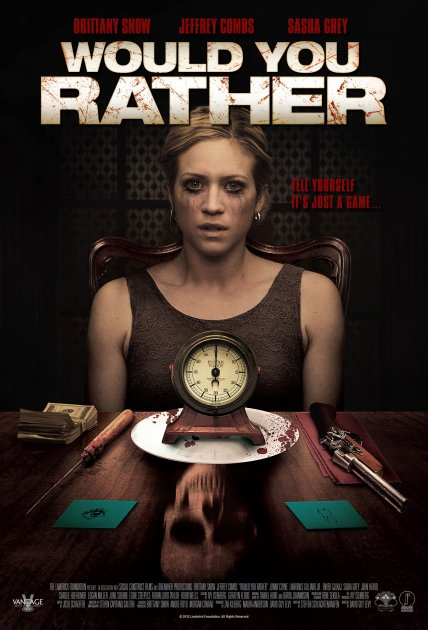 I'd Rather Do Something Unmentionable: Would You Rather (2013)