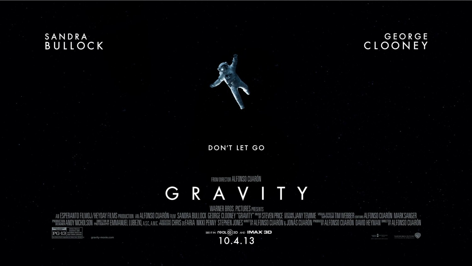 Lost Between the Spaces: Gravity (2013)