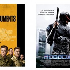 QuickBites : Joe / The Monuments Men / Robocop / The Machine (2014)
