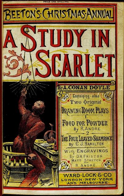 arthur conan doyle - a study in scarlet